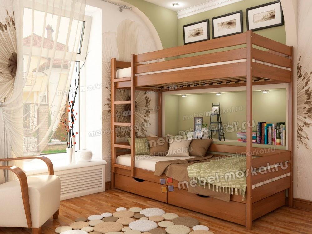 двухъярусная икея 4 без ящиков купить двухъярусные кровати